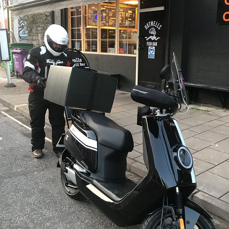 ELECTRIC DELIVERY SCOOTERS