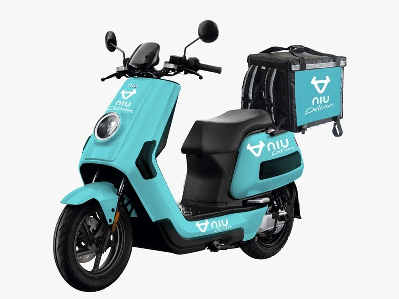 NQiGTS mopeds niu deliveroo bike