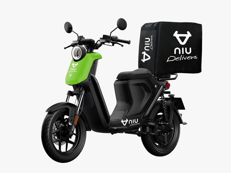 UQiGT mopeds uber eats electric bike