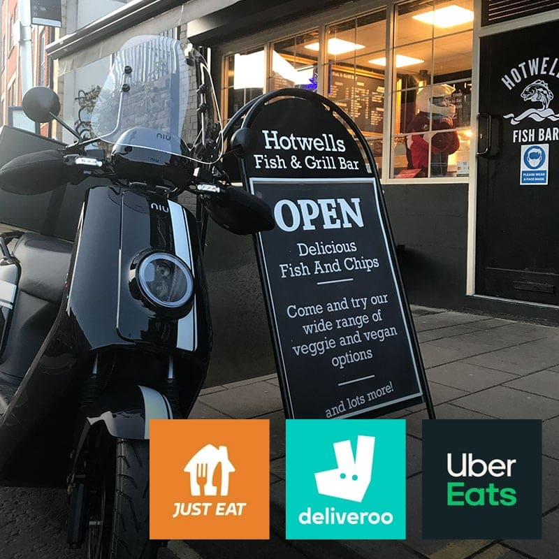 Mopeds for Delivery