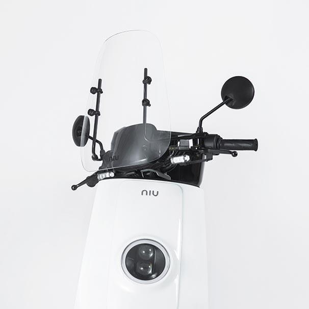 niu original e moped windshield