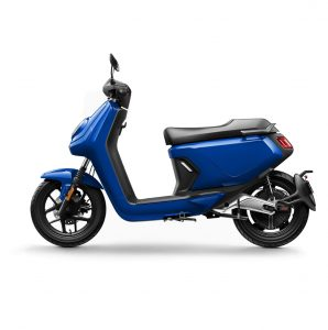 niu mgt extended range electric bike blue