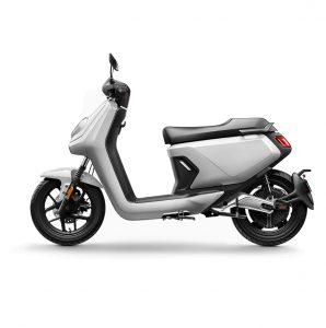 niu mgt extended range electric bike grey