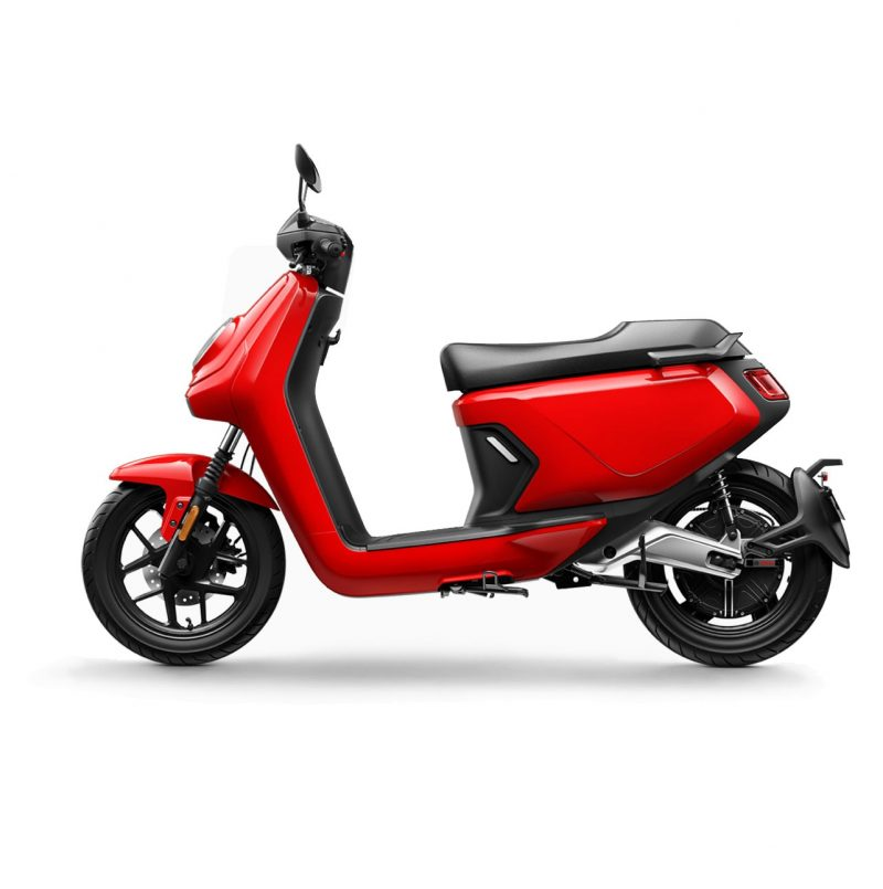 niu mgt extended range electric bike red