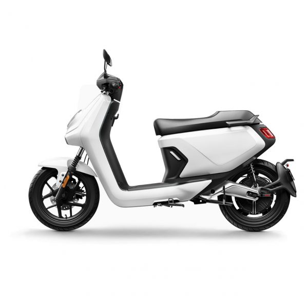 niu mgt extended range electric bike white