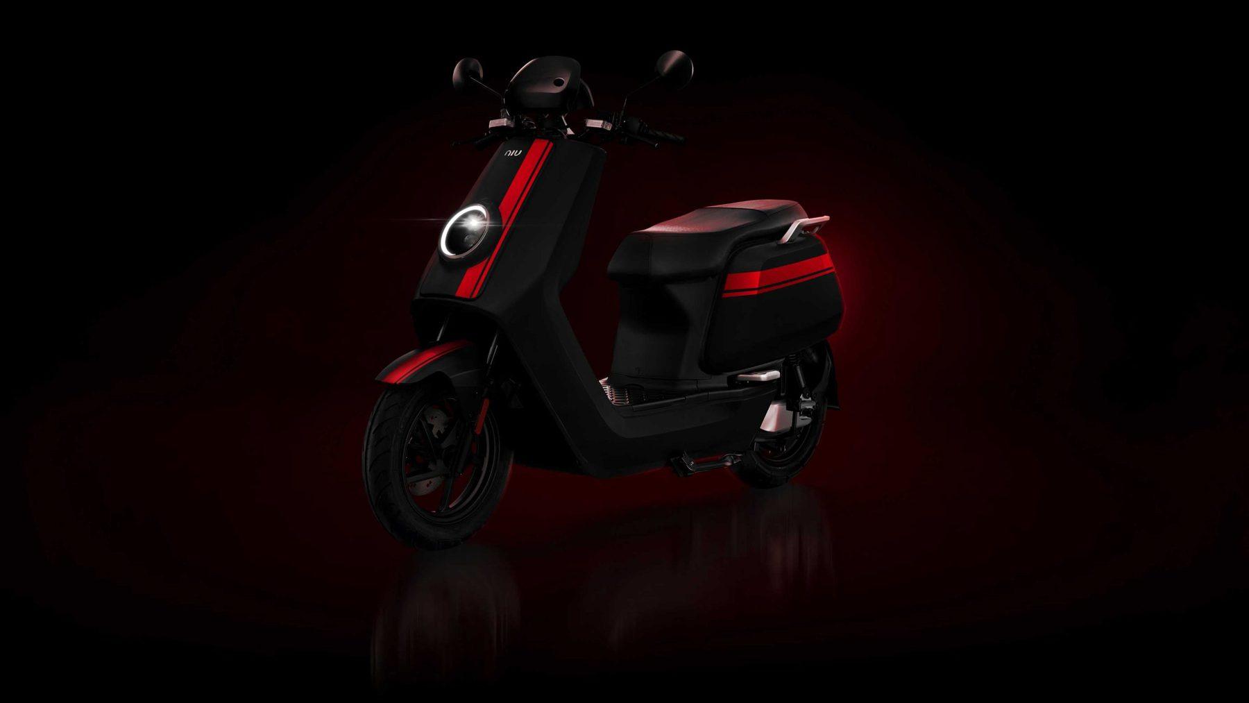 NIU smart technology scooter