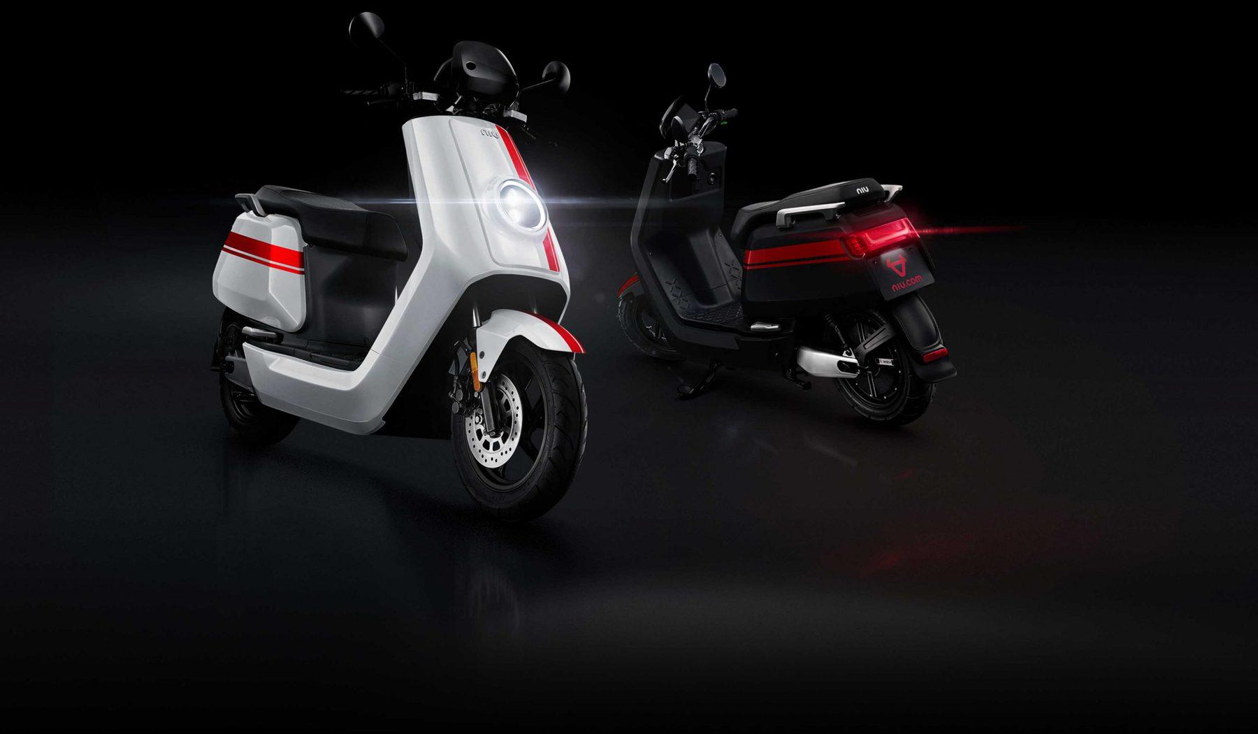 fast electric scooter niu