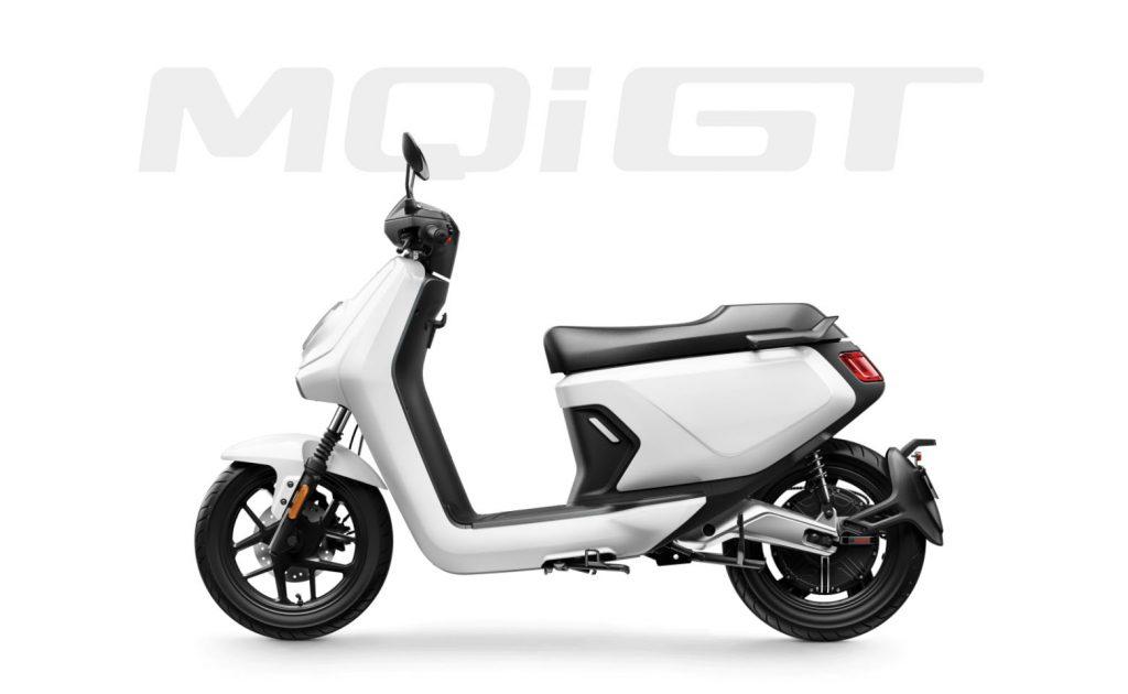 NIU MQI GT side white
