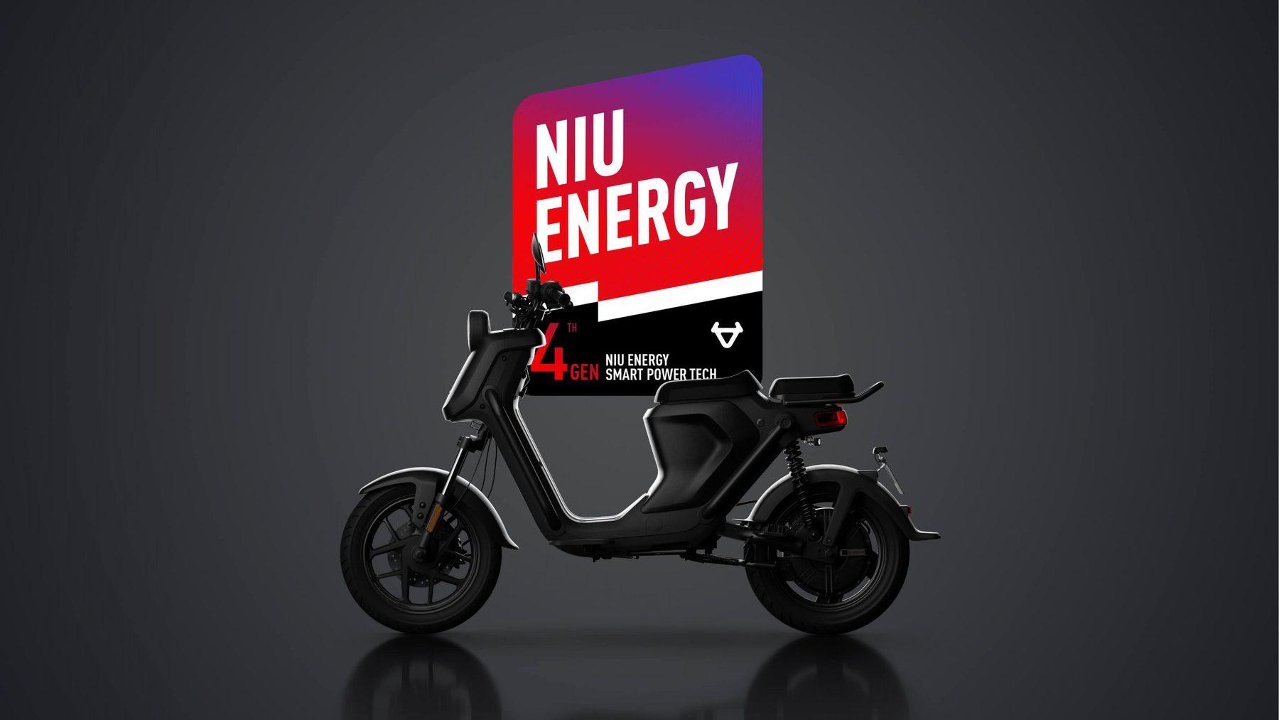 niu scooter 4th gen energy