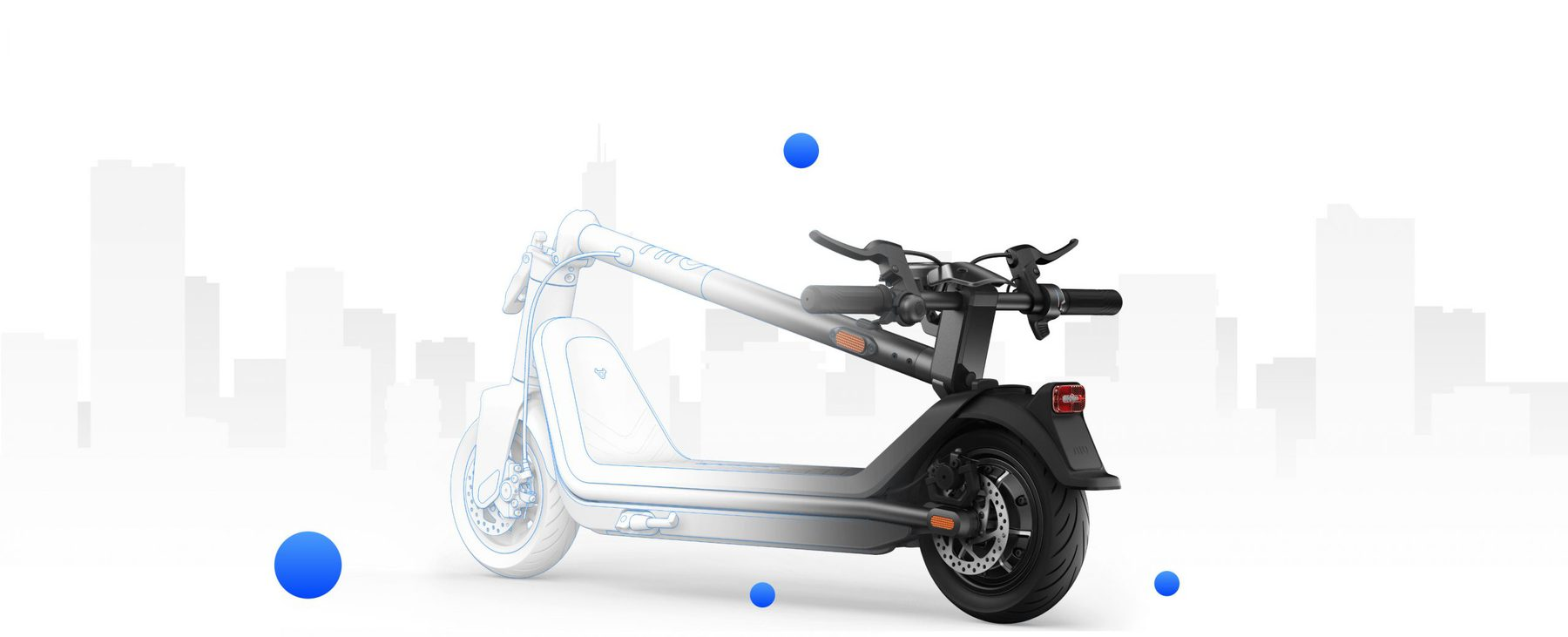 easy to transport scooter